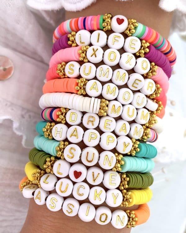 bracelet personnalisable flora 1 couleur mae zoa bijoux éternels fantaisie 1